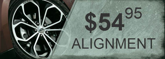 $54.95 Alignment Coupon in Sidney OH